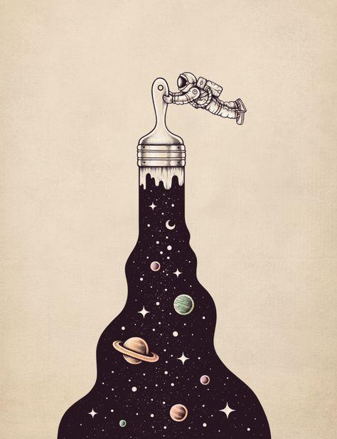 Cosmic Masterpiece by Enkel Dika