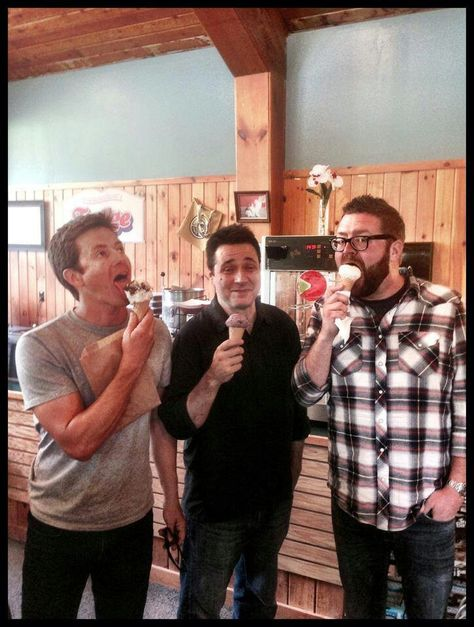 Adam's face tho he's like I'm friends with a couple of idiots that really enjoy ice cream and tanner and rutt are like I love ice cream