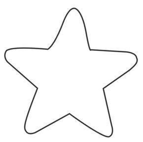 25 Ideas Destacadas Sobre Plantilla De La Estrella En Pinterest Felt Dolls Stars Crafts