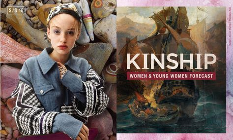 WGSN Women's Forecast S/S 18: KINSHIP | Thea Nowell
