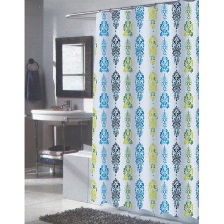olivia fabric shower curtain