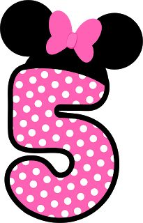 Minnie mouse birthday glitter number embroidered applique all size numbers 1st 2nd 3rd
