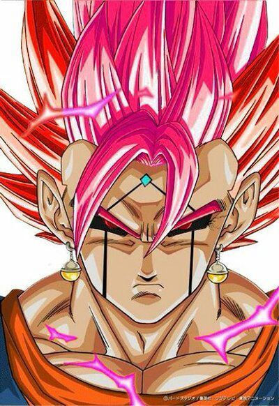Dark Super Saiyan God Vegito Dragon Ball Art Dragon Ball Artwork Anime Dragon Ball Super
