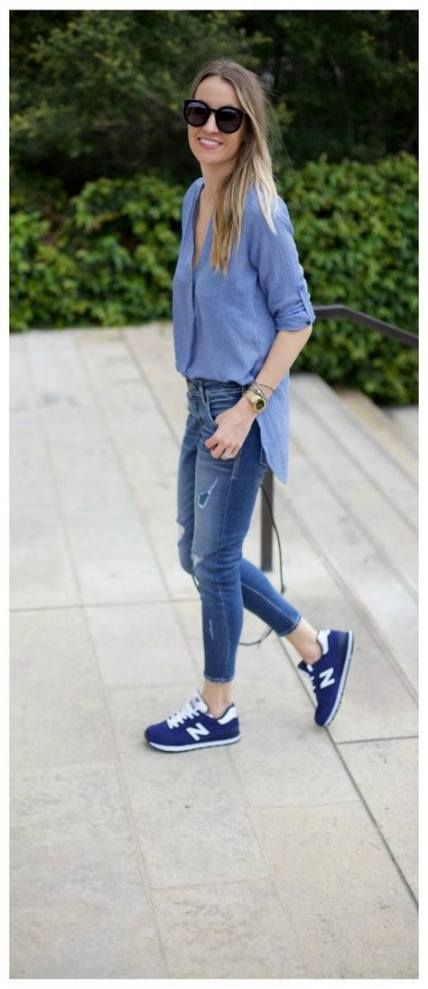 Sneakers Outfit New Balance Navy 39