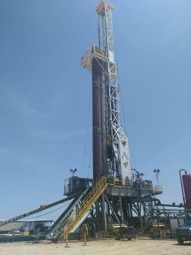 Cool Looking Derrick Oil Rig Petroleum Engineering Oilfield
