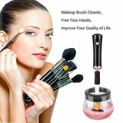 Advertisement Luxe Electric Makeup Brush Cleaner Portable