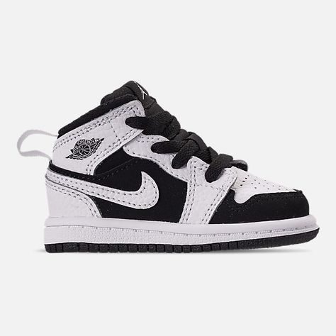 newest collection b031a 34ea0 Right view of Kids  Toddler Air Jordan 1 Mid Retro Basketball Shoes