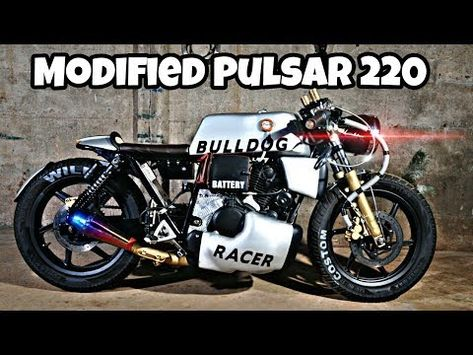 Here S One Of The Most Extreme Bajaj Pulsar 220 Modifications That