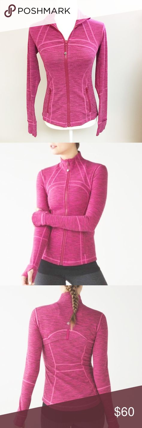 Lululemon Define Jacket Lululemon Define Jacket In Berry Rumble A