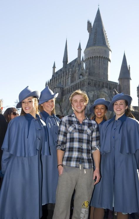 Tom Felton Photos Photos: Tom Felton Visits The Wizards World Of Harry Potter At Universal Orlando Resort