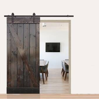 Mirrored Manufactured Wood Glass Lace Sliding Closet Door Barn Door Barn Door Designs Wood Glass