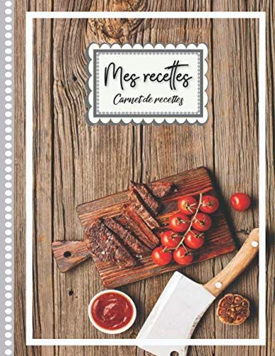 Mes Recettes Livre De Vos Recettes Couverture Cuisine Au Barbecue A Remplir Et Personnaliser 120 Recettes Livre De Recette Cahier De Recette Livre De Cuisine