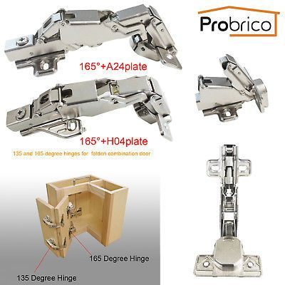 Details About Probrico Kitchen 135 165º Cupboard Corner Folded