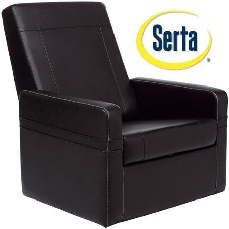 Astounding Serta Entertainment Ottoman Gaming Puresoft Faux Leather Beatyapartments Chair Design Images Beatyapartmentscom