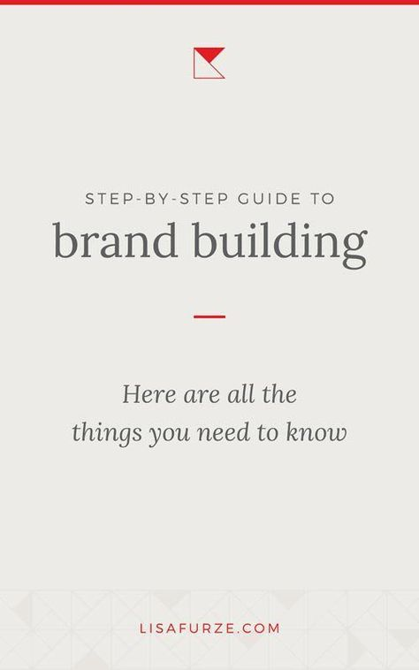 A complete guide to creating a brand for your small business | Lisa Furze