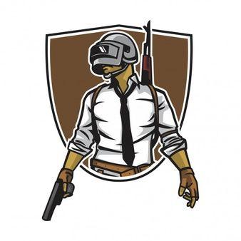 Pubg Mascot Logo Design For Esport | Logo design, Shop logo design, Game  logo design