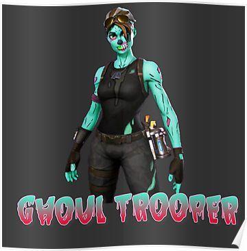 Ghoul Trooper Skin Fortnite Poster Ghoul Trooper Trooper Ghoul