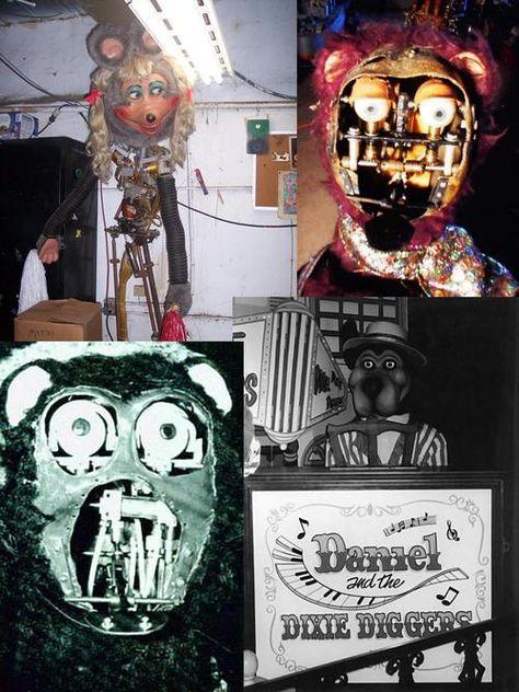 Unexplained Spoopies Animatronics Some Retired Animatronics That