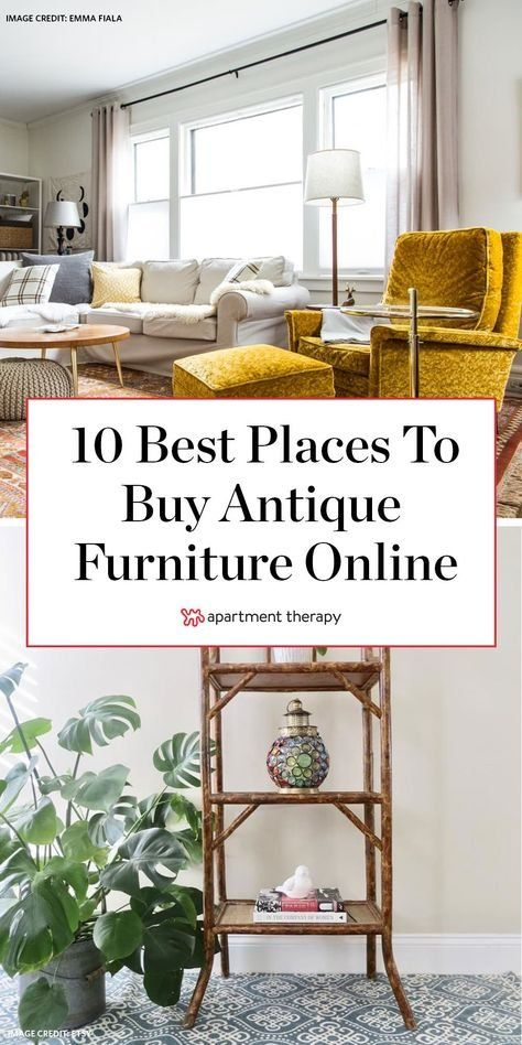 10 Places To Buy Antique And Vintage Furniture Online
