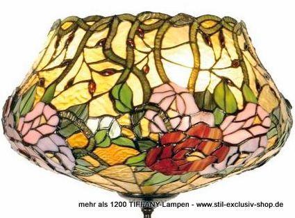 EXTRA Modell ! Etwas Ganz Besonderes! Seltene TIFFANY Decken Lampe, Unsere  Umfangreiche Serie CROWN. Ca. 26cm Hoch, 40 Cm ø, 2 X E 27, Je Max. 60u2026