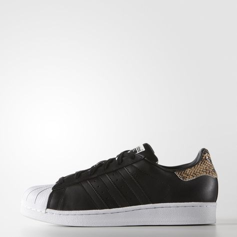 fef0a643c3 adidas Superstar Shoes - Black | adidas US | { Sneakers } | Adidas ...