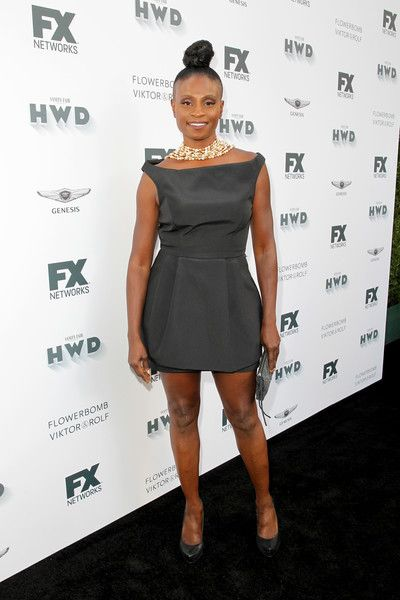 Adina Porter attends FX Networks' celebration of their Emmy nominees in Century City.
