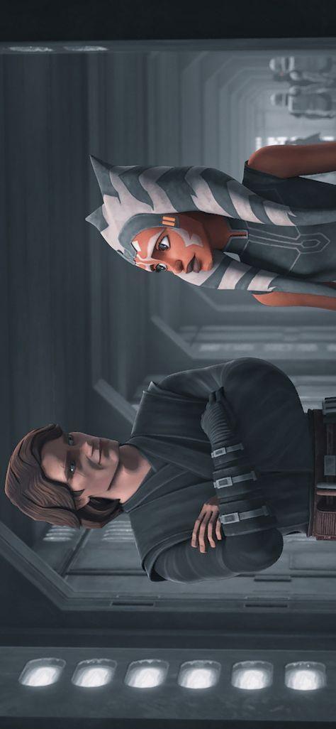 Anakin and Ahsoka Wallpaper
