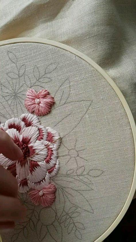 Chain stitch. Part 1