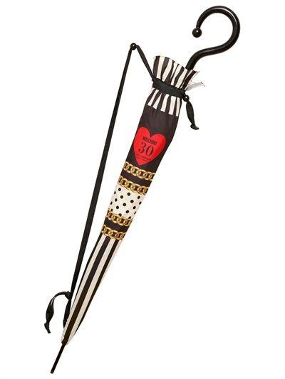 Ombrello Moschino, collezione trentesimo compleanno
