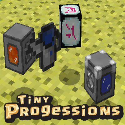 Tiny Progressions Mods supplies you with a small number of