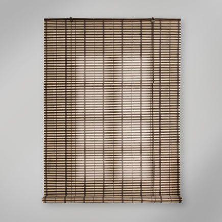 Estor Enrollable De Bambu Kenya Marron Inspire De 120x250cm Leroy Merlin Diy Design Curtains Roman Shade Curtain