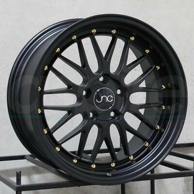 Advertisement Ebay 17x8 5 17x9 5 Jnc 005 Jnc005 5x114 3 30 32 Black Wheel New Set 4 Bronze Wheels Wheel Rims Wheels And Tires