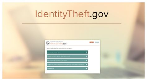 Identity Theft FTC Pinterest - sample ftc complaint form
