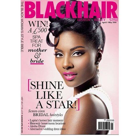Latest Cover Of Blackhairmags Stunning Hair Created Using Curlformers Black Hair Magazine Hair Magazine Hair Styles