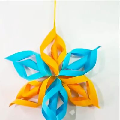 Creative ideas about paper crafts for festive decorating.