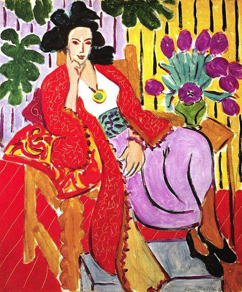 Fonkelnieuw Odalisque with the Red Coat (1937) by Henri Matisse #art KY-15