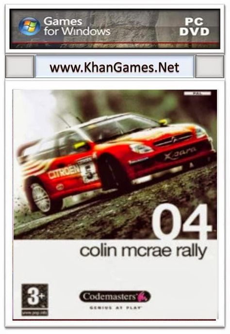 Colin Mcrae Rally 04 Game Download Games