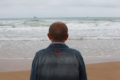 Sophie Calle - a man seeing the sea for the first time