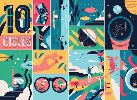 As Far As The Eye Can See: Colorful Sceneries, Posters And Covers — Smashing Magazine