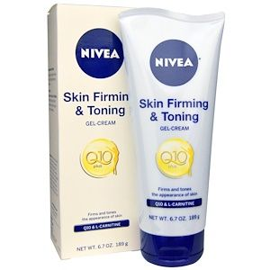 Nivea Skin Firming Toning Gel Cream With Q10 L Carnitine 6 7 Oz 189 G Skin Firming Toning Gel Gel Cream