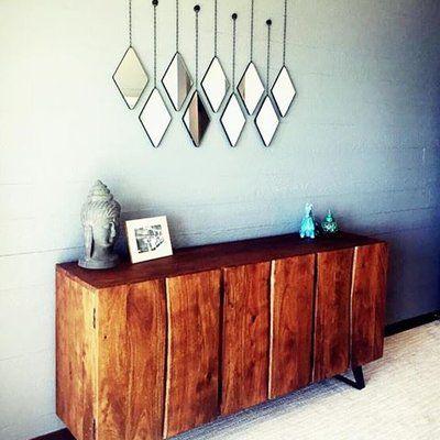 Decor Home Diy Bedroom, Dima Round Accent Mirror Set