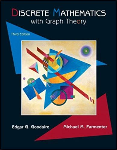 Solution Manual For Discrete Mathematics With Graph Theory 3rd