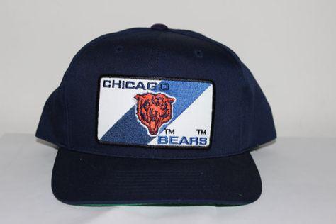 Vintage Chicago Bears ANNCO NFL Snapback by SouthsideThrowbacks  snapback   snap  hat  fashion  style  chicago  bears 18da2329b