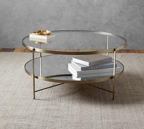 Leona Coffee Table Pottery Barn Coffee Table Inspiration Round Wood Coffee Table Coffee Table