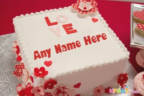 Stupendous Happy Birthday Cake For Lover With Name Edit With Images Happy Funny Birthday Cards Online Elaedamsfinfo
