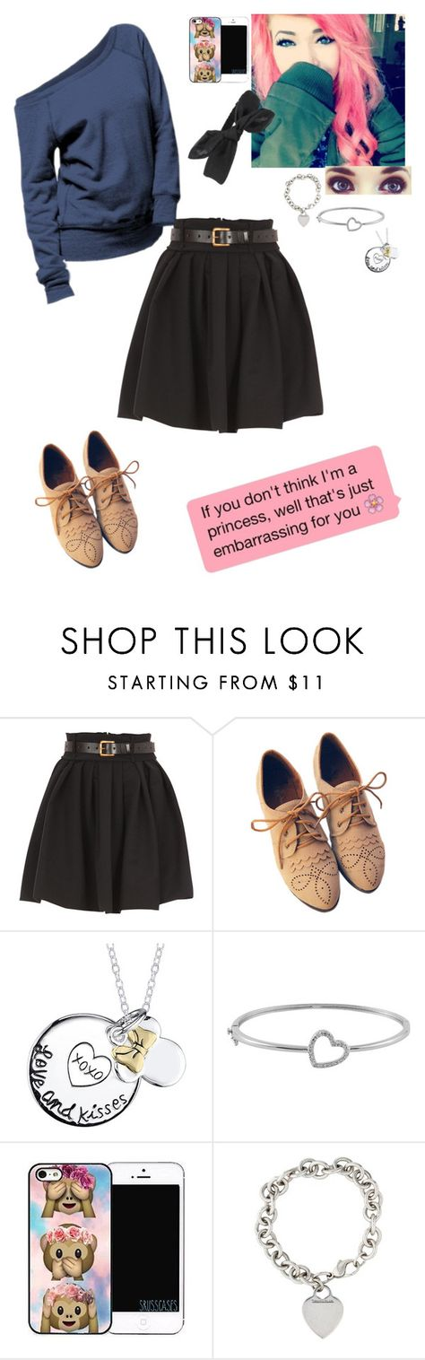 """""""Untitled #418"""" by sapphirejones ❤ liked on Polyvore featuring Preen, Disney, Jewel Exclusive, Tiffany & Co., women's clothing, women's fashion, women, female, woman and misses"""