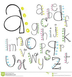 Font Alphabet Letter Lettering Script Vector Hand Brush Download From Over 50 Million High Quality Stock Photos Images レタリングデザイン アルファベットフォント 文字デザイン
