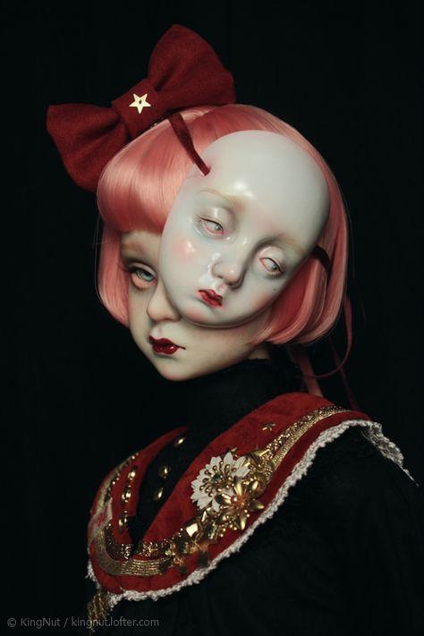 Art Reference Poses, Photo Reference, Ooak Dolls, Art Dolls, Painting Inspiration, Art Inspo, Art Sinistre, Arte Obscura, Creepy Art
