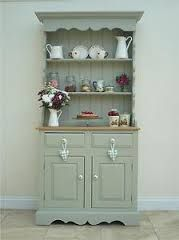 My Beautiful Welsh Dresser Painted In Farrow Ball New White