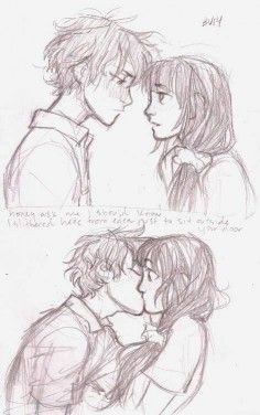 """#close #Cute Couples drawings #Friends #Open #RP (Open RP. Someone be him) We were close. Best friends should I say. But I always... (Open RP. Someone be him) We were close. Best friends should I say. But I always liked him. I didn't notice him walking over to me. """"Hey nerd"""" he says. """"Hi"""" I say not really paying attention. He leans close to me and I start to pay attention again. """"I knew that would work"""" he says smirking. """"Not really. It's just hilarious watching you try to ..."""